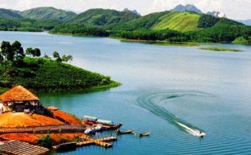 Hồ Thác Bà Yên Bái ảnh
