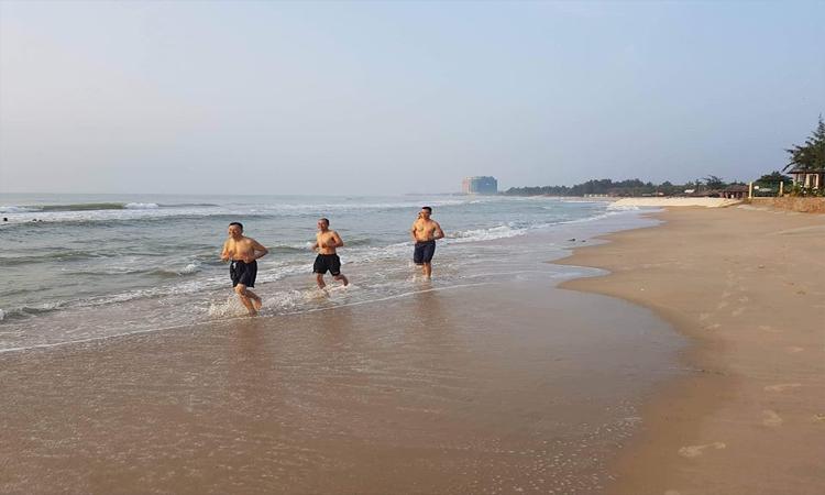 Hồ Tràm Vũng Tàu - đi dạo