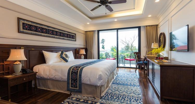 Khách sạn Sapa - Phòng ngủ khách sạn Pao's Sapa Leisure