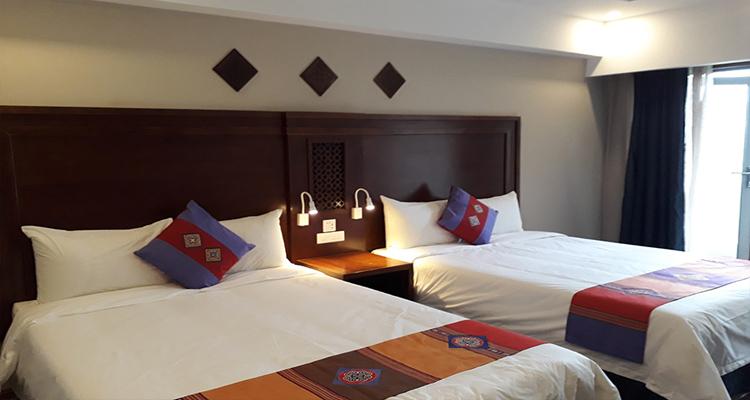 Khách sạn Sapa - phòng ngủ