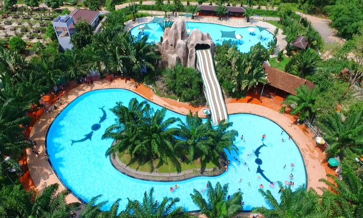 Khu du lịch Vườn Xoài - bể bơi