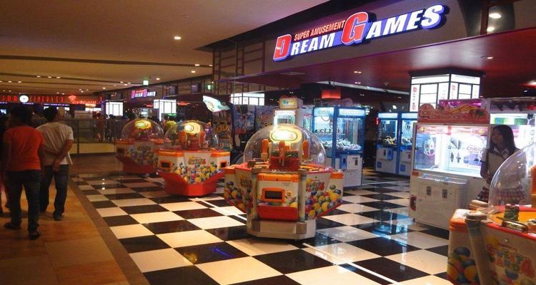 Khu vui chơi giải trí aeon mall dream games