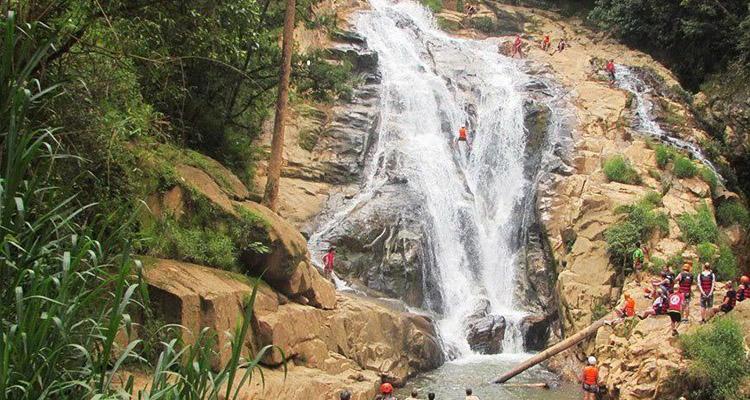 Kinh nghiệm du lịch Đà Lạt thác hang cọp
