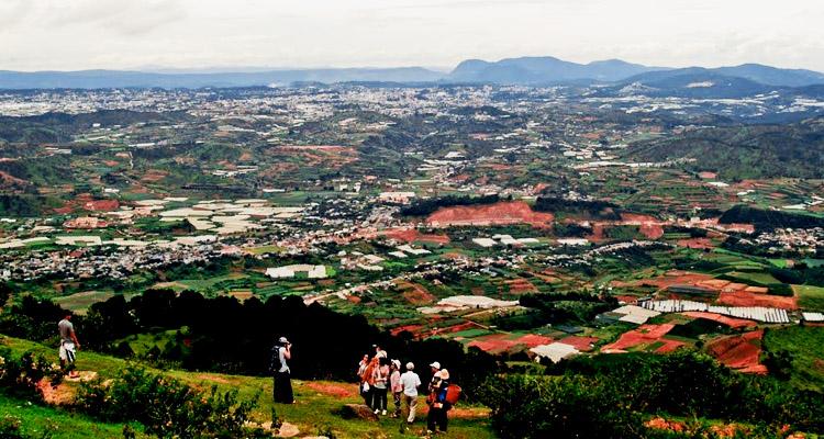 Kinh nghiệm du lịch Đà Lạt núi langbiang