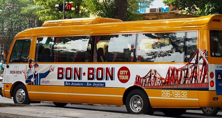 Kinh nghiệm du lịch Hà Nội bonbon city tour