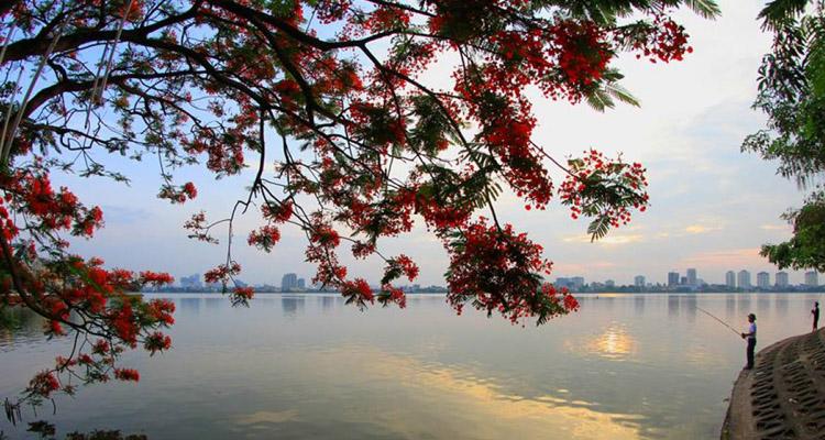 Kinh nghiệm du lịch Hà Nội hồ Tây