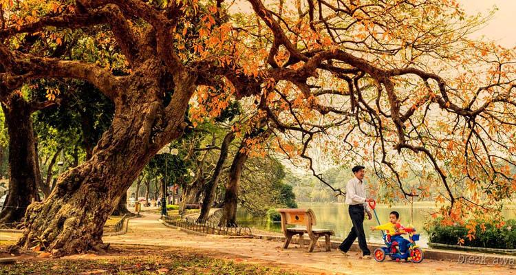 Kinh nghiệm du lịch Hà Nội mùa thu