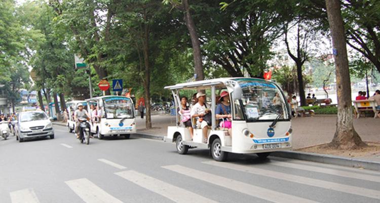 Kinh nghiệm du lịch Hà Nội xe điện