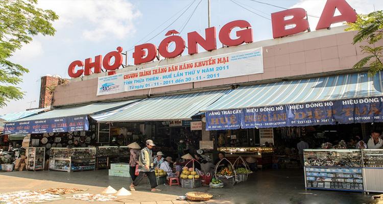 Chợ Đông Ba - hiệm du lịch Huế chi tiết nhất