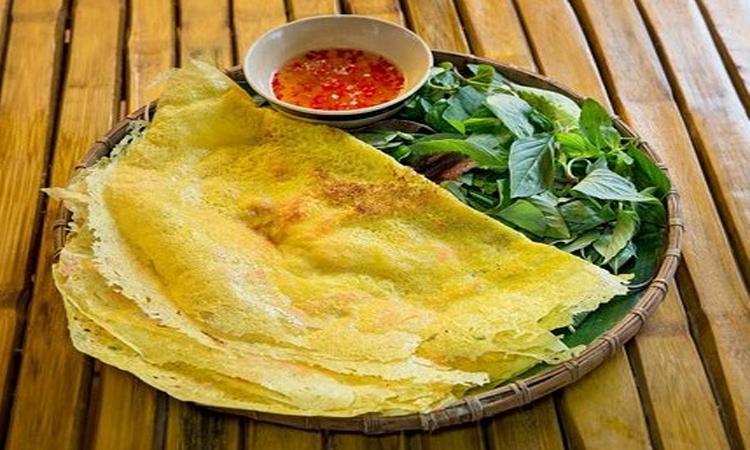 Làng du lịch Tre Việt - bánh