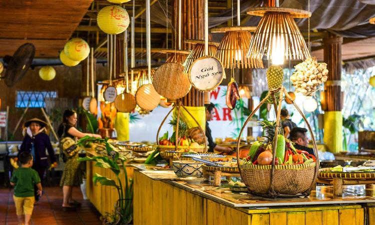 Làng du lịch Tre Việt - ẩm thực