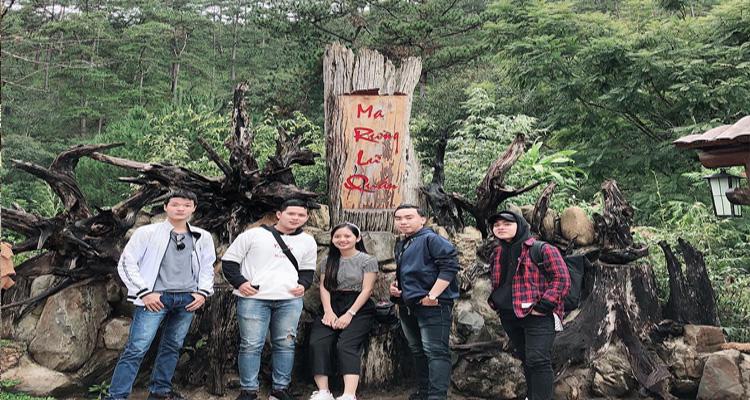Khu du lịch Ma Rừng Lữ Quán nằm trên địa bàn thôn Đa Nghịch, xã Lát, huyện Lạc Dương, TP. Đà Lạt.