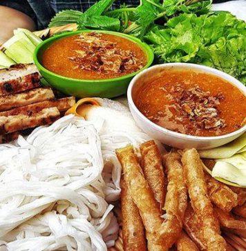 Món ngon Nha Trang - nem nướng