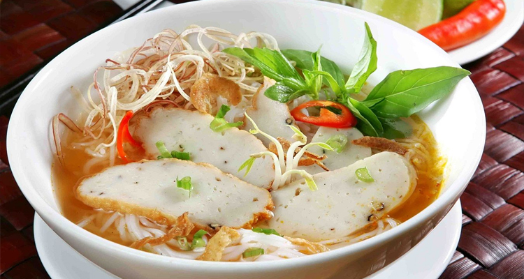 Món ngon Nha Trang - bún chả cá