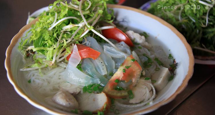 Món ngon Nha Trang - bún sứa