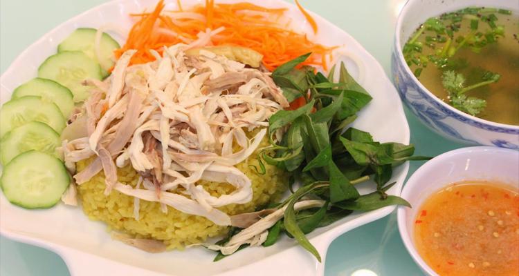 Món ngon Nha Trang - cơm gà