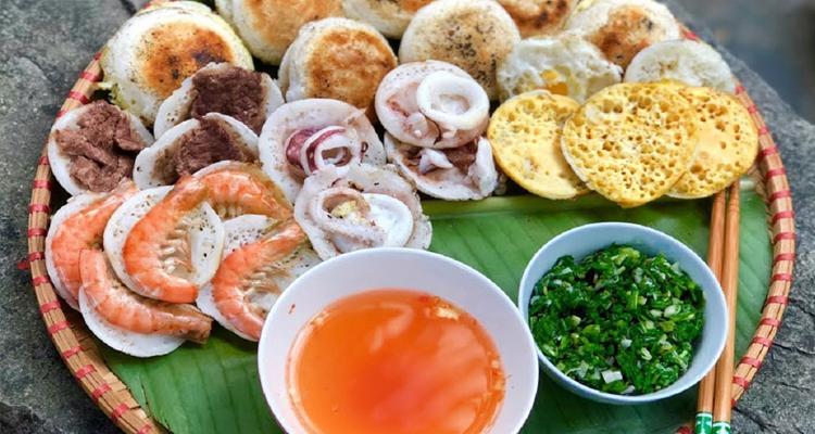 Món ngon Nha Trang - bánh căn