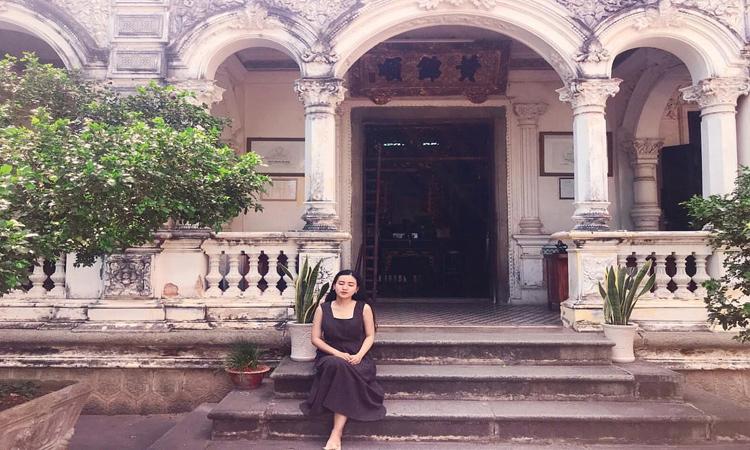 Nhà thờ Huỳnh Thủy Lê - check in