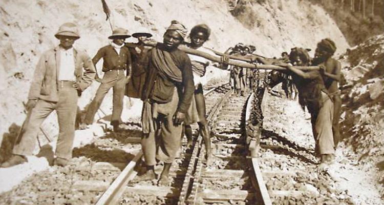 nhà ga đà lạt - xây dựng đường ray