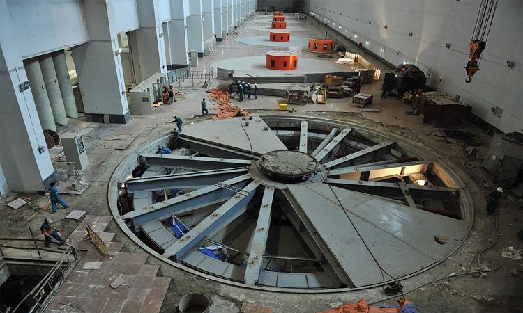 Nhà máy thủy điện Sơn La - sức chứa lớn