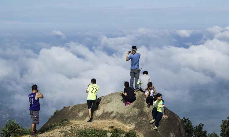 Núi Chứa Chan - chụp ảnh