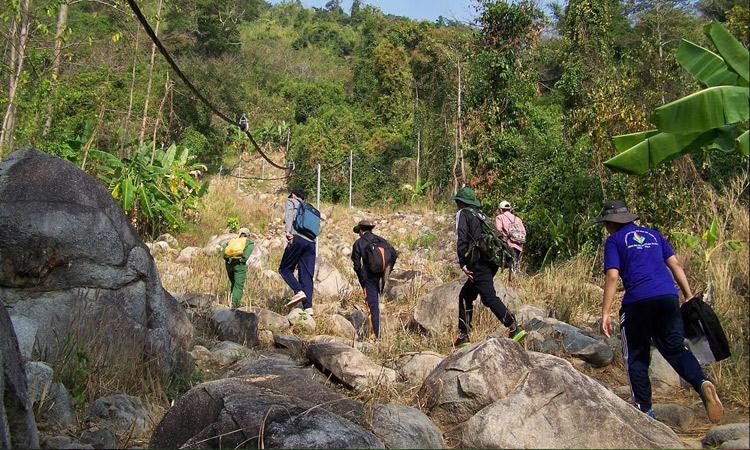 Núi Chứa Chan - bắt đầu
