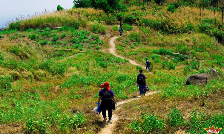 Núi Chứa Chan - gần đỉnh núi