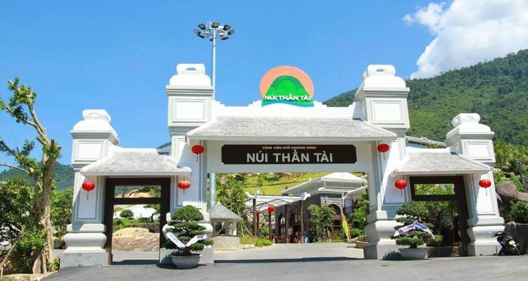Núi Thần Tài - cổng