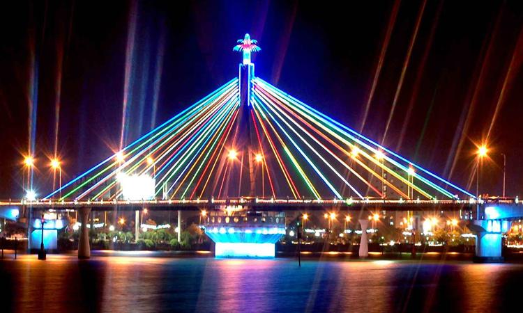 Phượt Đà Nẵng - cầu sông hàn