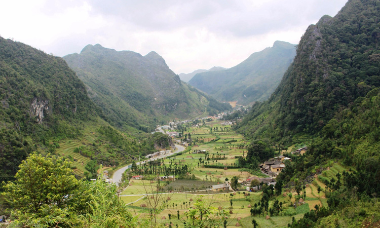 Phượt Hà Giang - thung lũng