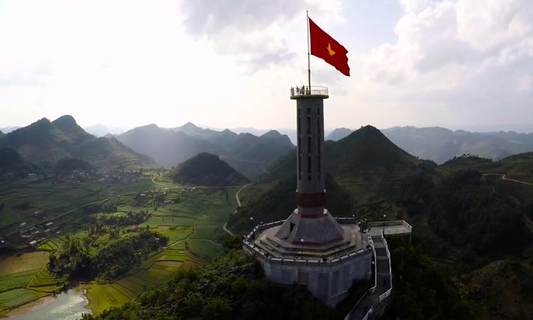 Phượt Hà Giang - cột cờ