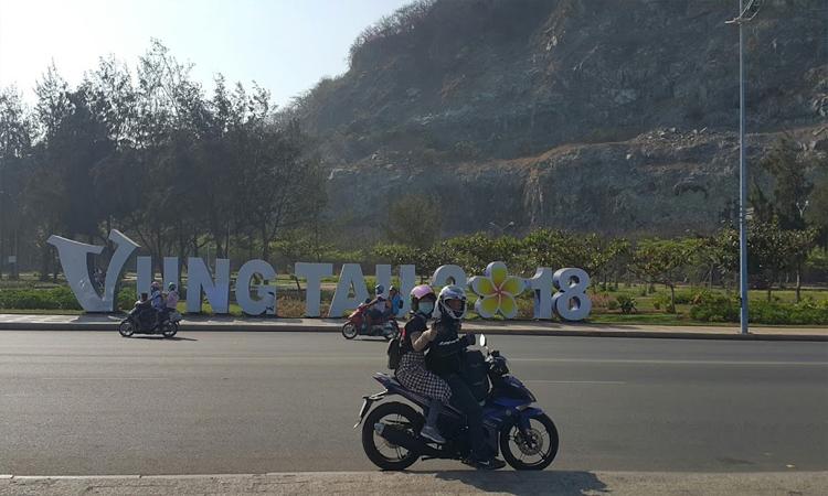 Phượt Vũng Tàu - xe máy