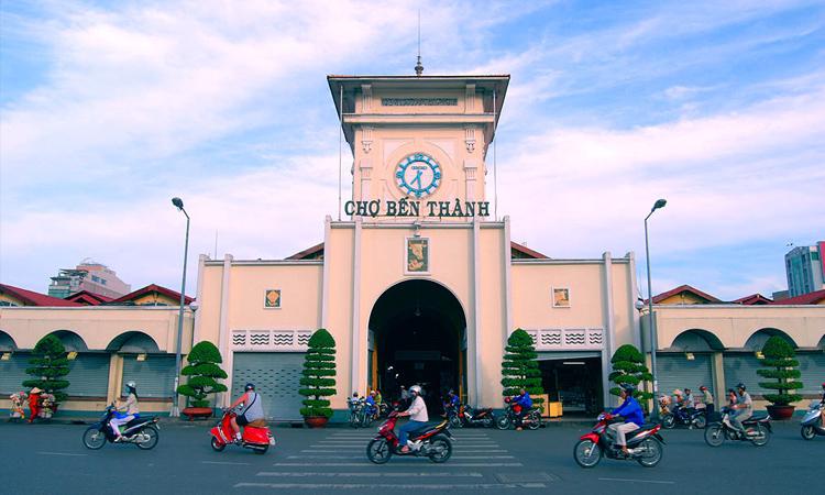 Sài Gòn có gì - chợ bến thành