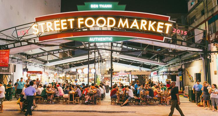 Sài Gòn về đêm - ẩm thực