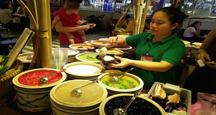 Sài Gòn về đêm - các món ăn