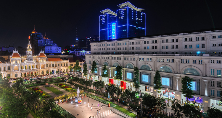 Sài Gòn về đêm - Nguyễn Huệ