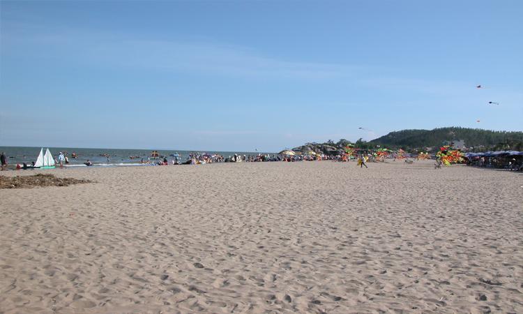 Sầm Sơn - bãi cát