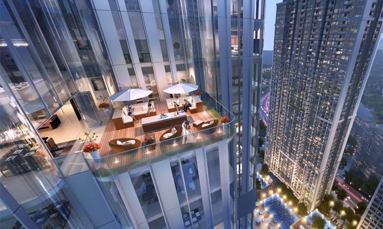 Tòa nhà cao nhất Việt Nam - hoàn thành