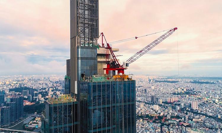 Tòa nhà cao nhất Việt Nam - xây dựng