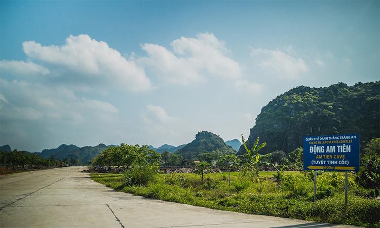 Tuyệt tình cốc Ninh Bình - di chuyển