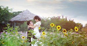 Vườn hoa Bãi đá sông Hồng 3
