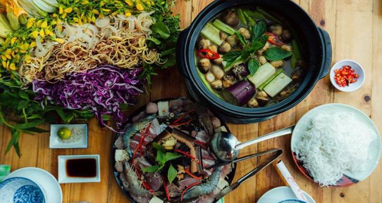 Vườn quốc gia Cát Tiên - món ăn