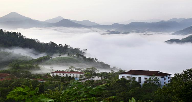 Vườn quốc gia Xuân Sơn săn mây