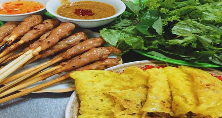 Ăn gì ở Đà Nẵng - bánh xèo, nem lụi