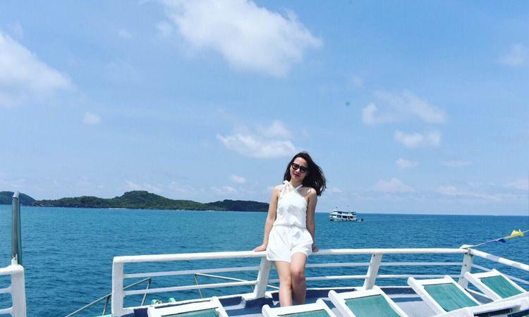Biển đảo Phú Quốc - tàu