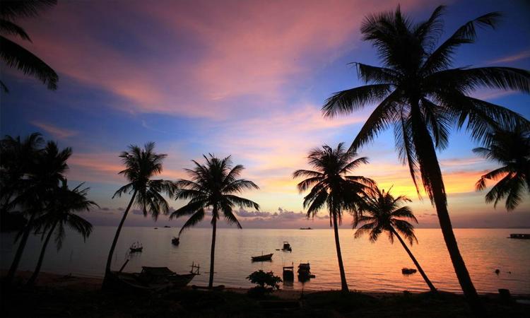 Biển đảo Phú Quốc - di chuyển