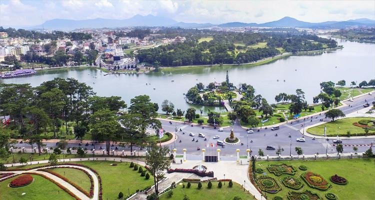 Cảnh đẹp Việt Nam - toàn cảnh thành phố Đà Lạt