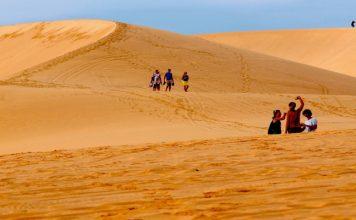 Cảnh đẹp Việt Nam - Bãi cát