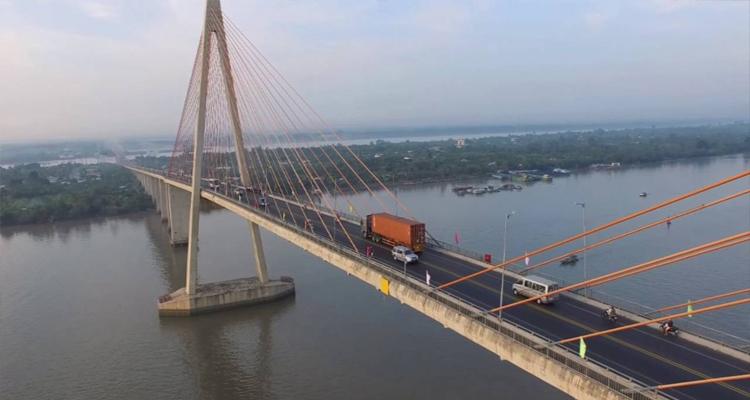 Cầu Mỹ Thuận - kiến trúc