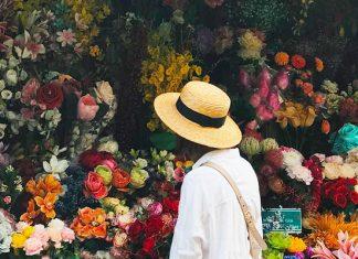 Chợ hoa Hồ Thị Kỷ 01